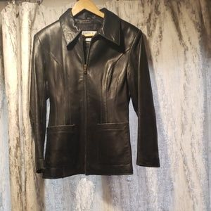 Wilson's Leather Pelle Studio Vintage Leather Coat